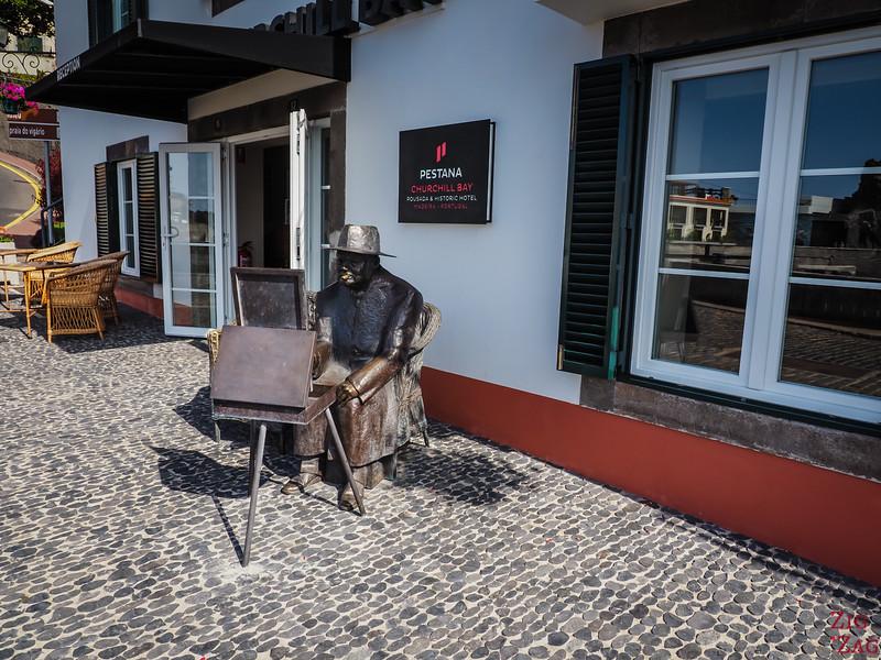 Churchill in Camara de Lobos