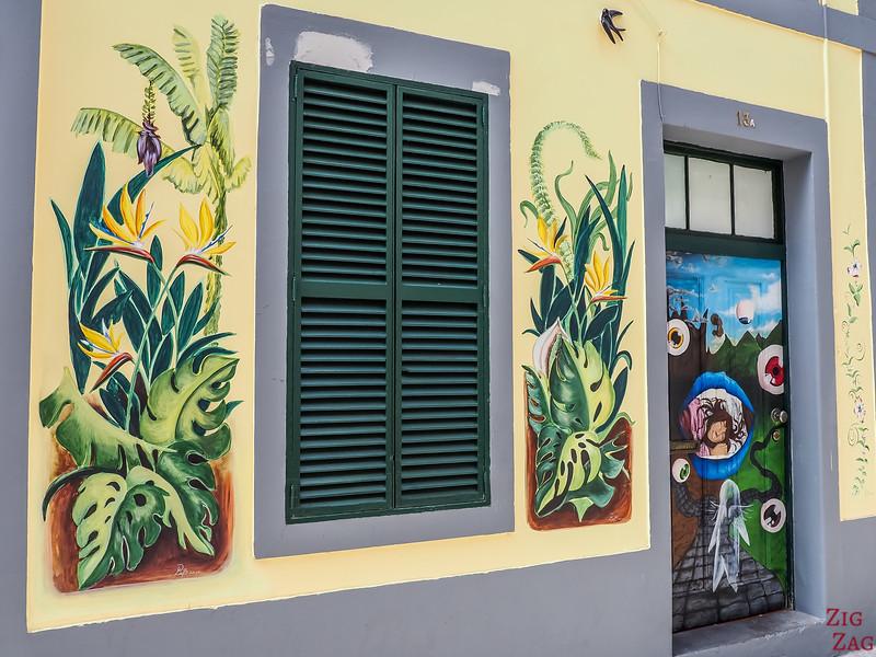 Rua Maria art à Funchal