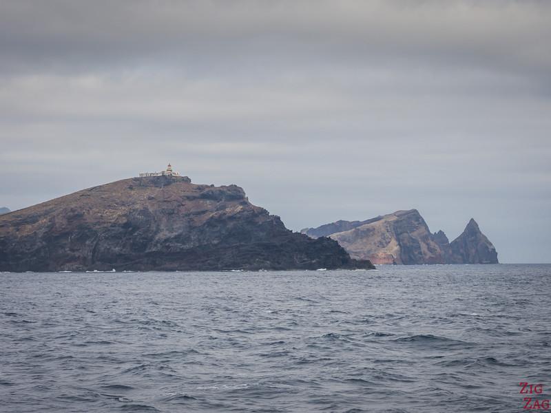 Ponta de Sao Louranço boat tours to lighthouse