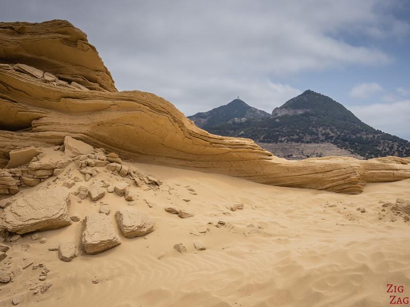 Dunes de sable de Porto Santo