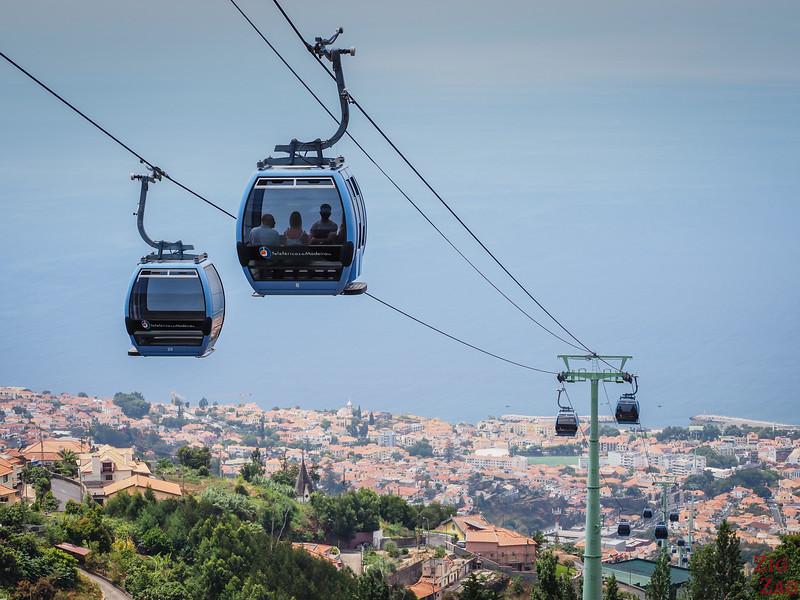 téléphérique Funchal - Monte