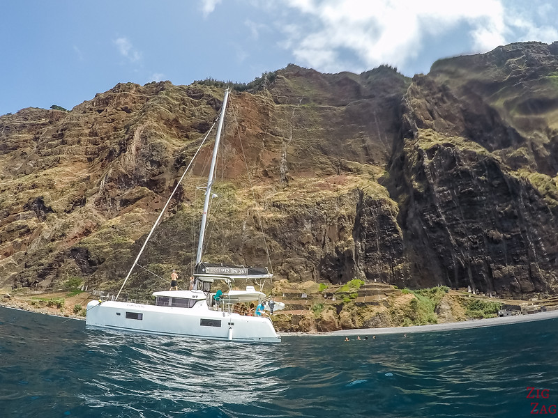 Nager à Cabo Girao