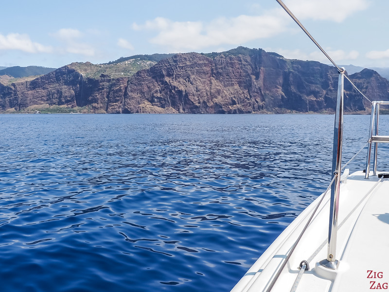 Sailing in Madeira