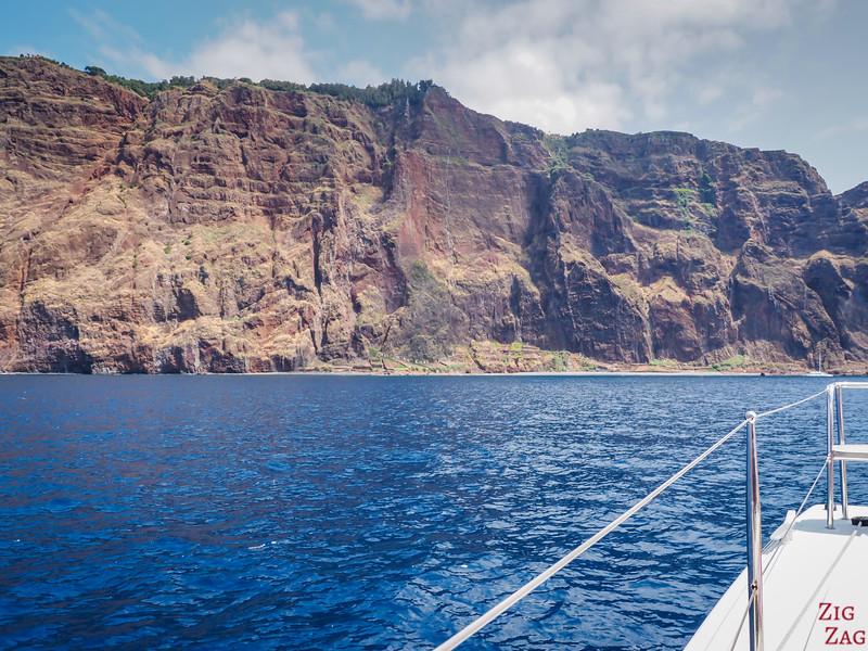 Les falaises de Cabo Girao