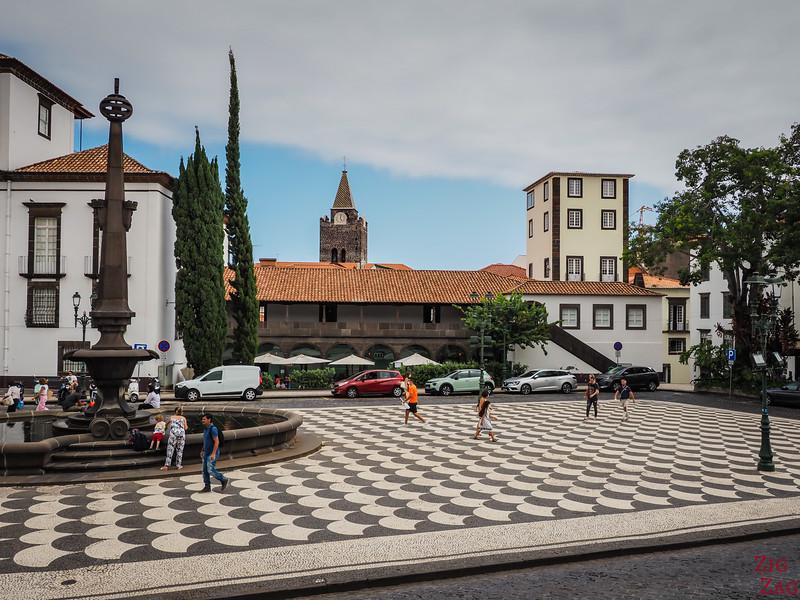 vieille ville de Funchal