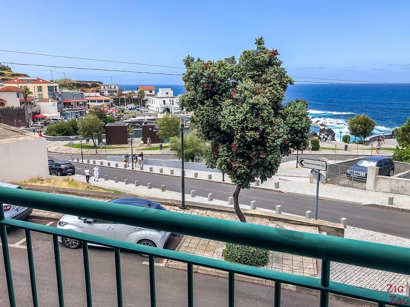 Blick vom Hotel in Porto Moniz