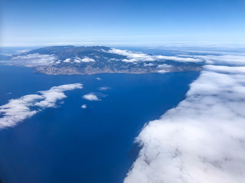 Flug nach Madeira