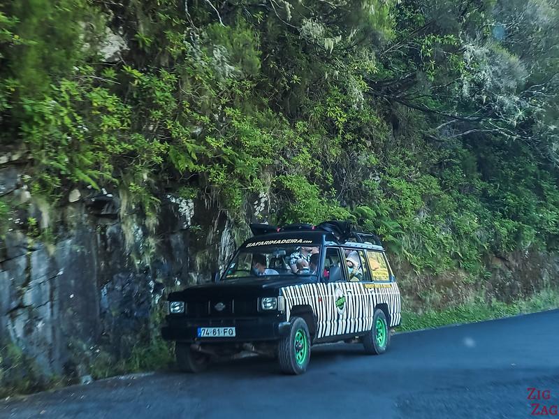 """Jeep-Tour """"Safari"""" auf Madeira"""