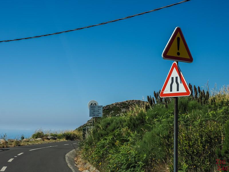Straßenschild Madeira 2