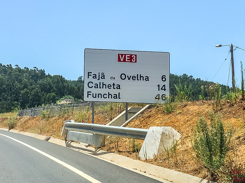 Straßenschild Madeira