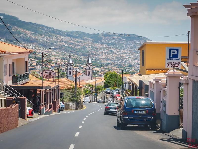 Stadtstraße in Madeira