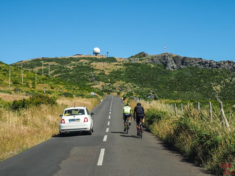 drive to Pico do Arieiro Madeira