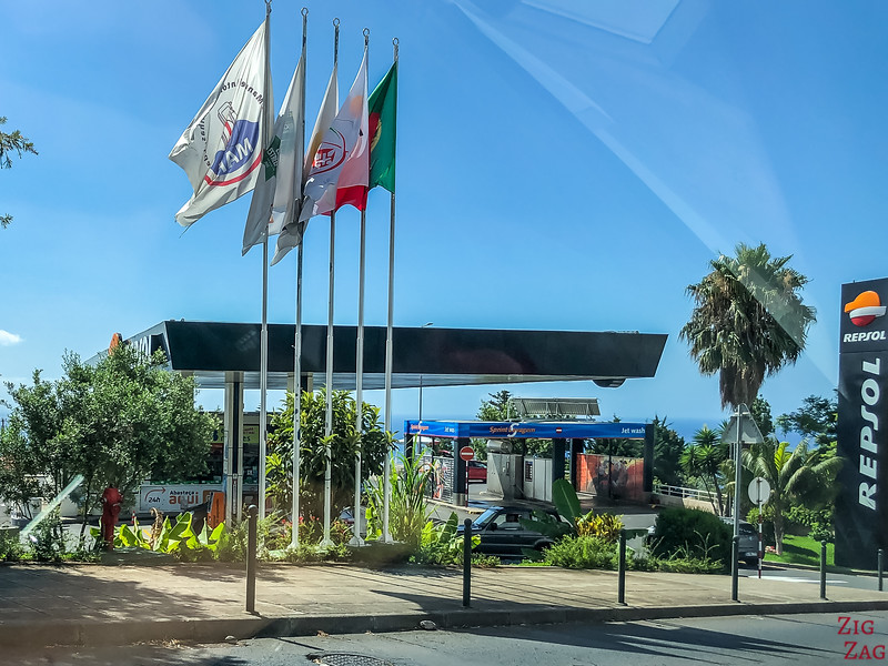 Tankstelle Madeira