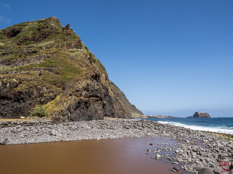 Praia Ilheus da Ribeira da Janela beach 2