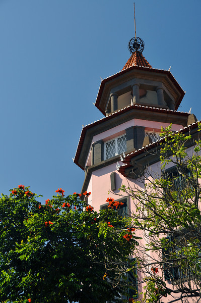 021 Building in  Funchal Town Centre