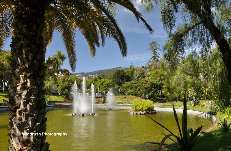 Fountains, Parque de Sta Catarina, Funchal