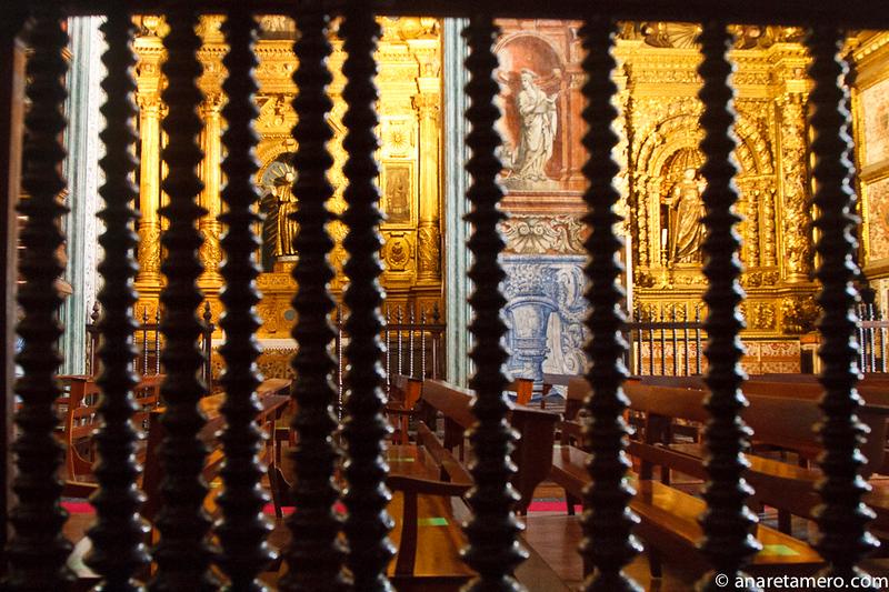 Interior de Capella Santa Quiteira
