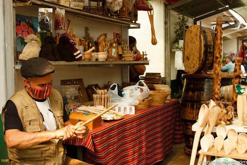 Mercado Santo da Serra. Mexelhote poncha