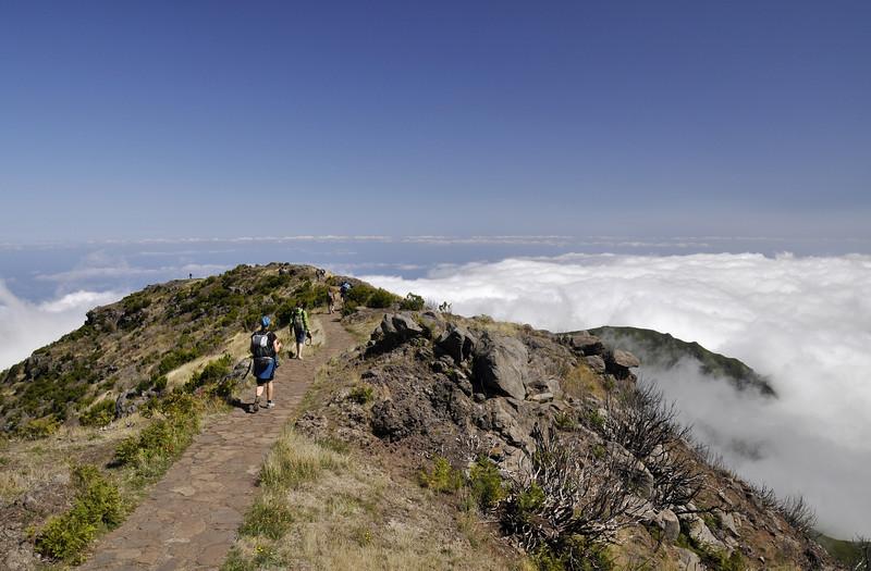 167 Between Pico Ruivo and Achada do Teixeira