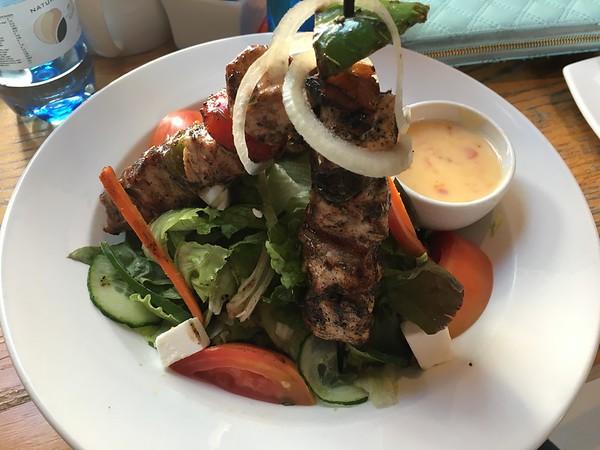 Grilled chicken salad!