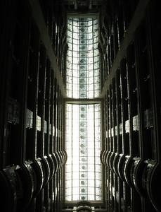 Main atrium skylight at the Hilton Hotel, Madinah.