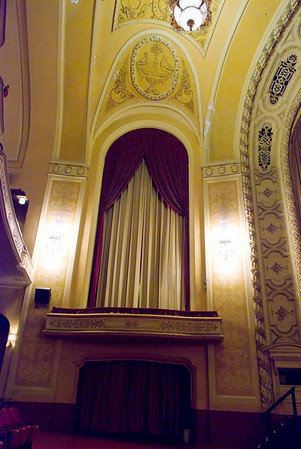 The Orpheum Theater, State Street, Madison, Wisconsin. Hand held shot.
