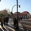 Crossing in the 'La Latina' area of Madrid.
