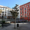 Just somewhere in the middle of Madrid, very quiet square...