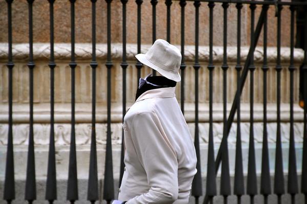 Invisible man - Madrid