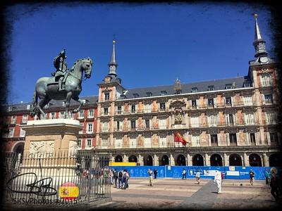 Felipe III in the sunshine