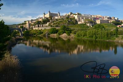 Approaching Toledo
