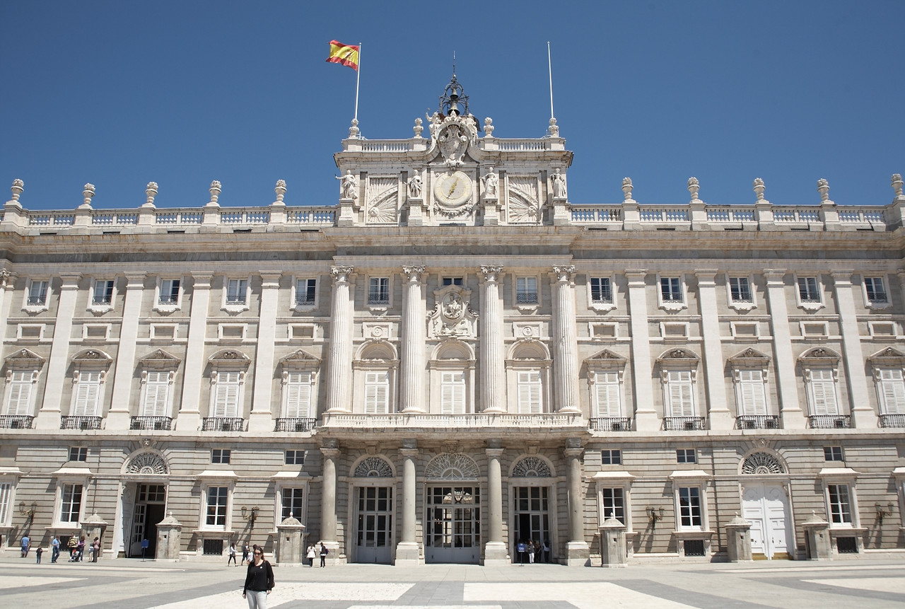 This is the main entrance to the palace.