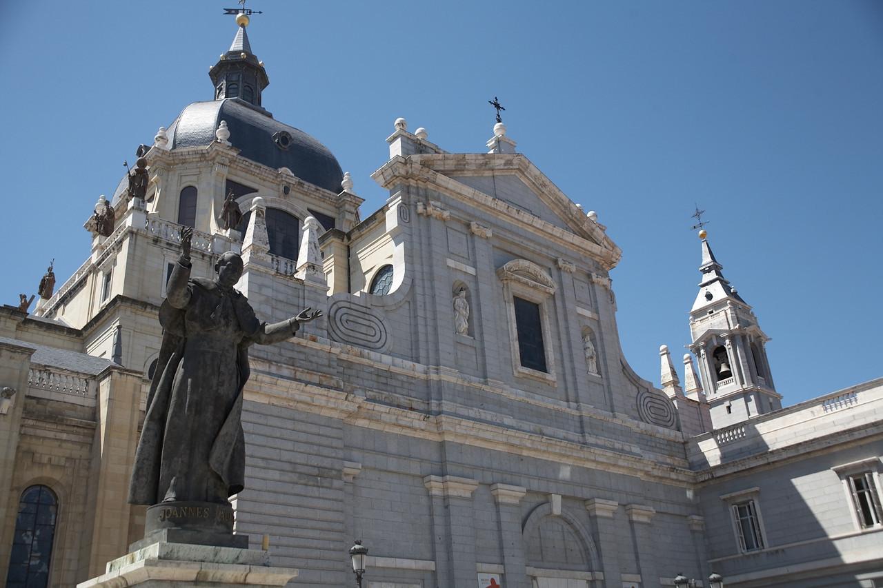 Catedral de Nuestra Senora de la Almundena.