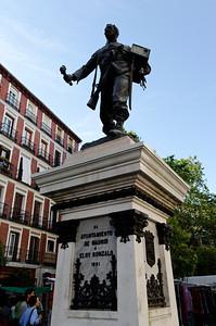 Eloy Gonzalo in  Plaza de Cascorro