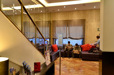 Hotel Medium's lobby