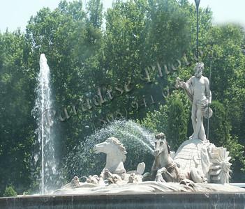 Madrid Jupiter Fountain
