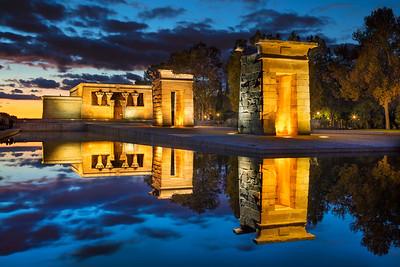Temple of Debod, Madrid.