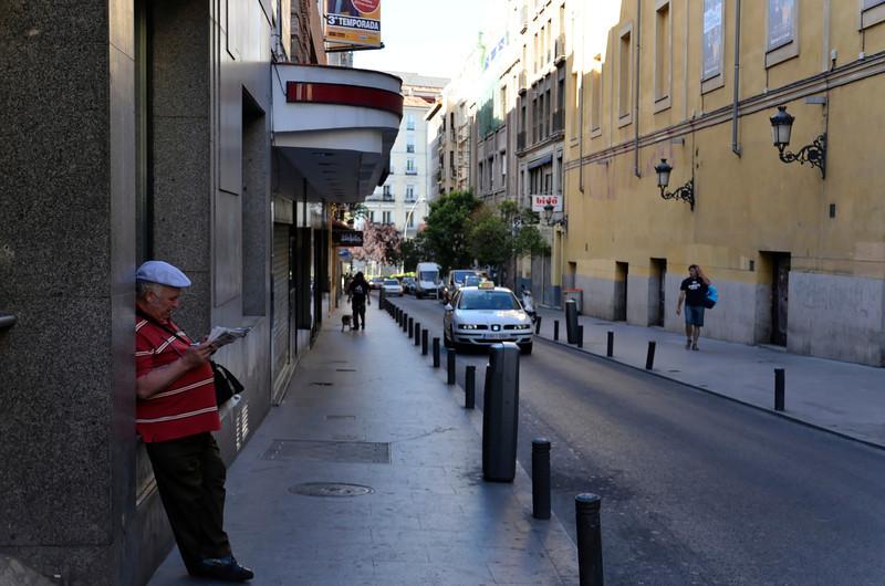 Street outside Hotel Monte Triana