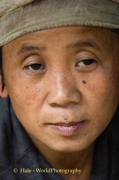 Sad Eyed Lady of the Refugee Camp, Huaysuatao on Thai-Burma Border