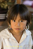 Young Kayaw Girl In Refugee Camp On Thai-Myanmar Border