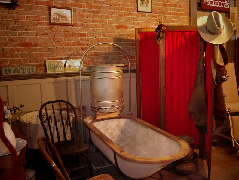 Bathtub, Bucksnort Saloon, Blackwater, Missouri.