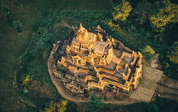 A unique perspective on Bagan