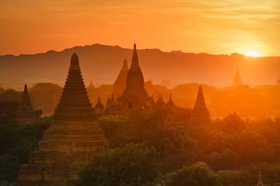 Bagan Setting Sun