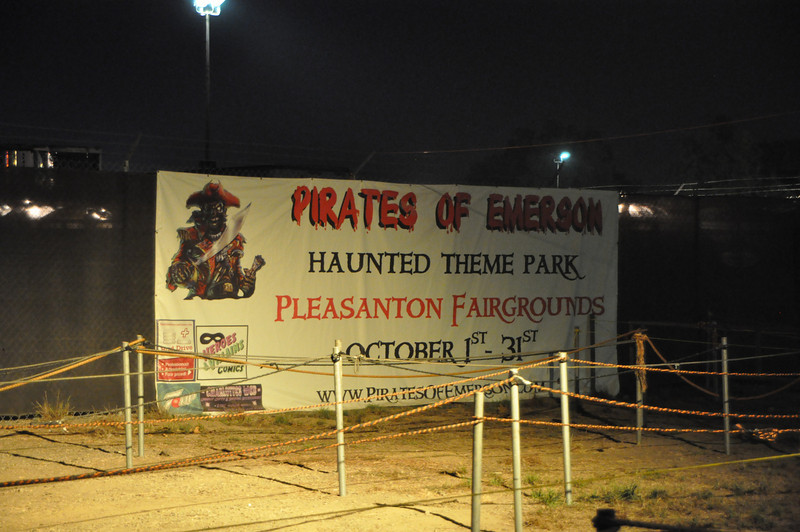 Pirates of Emerson used to be on Emerson Blvd. in Fremont, but now is on the county fairgrounds in Pleasanton, CA.