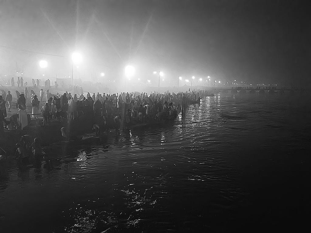 Sangam Ghat Maha Kumbh Mela 2013 Allahabad India