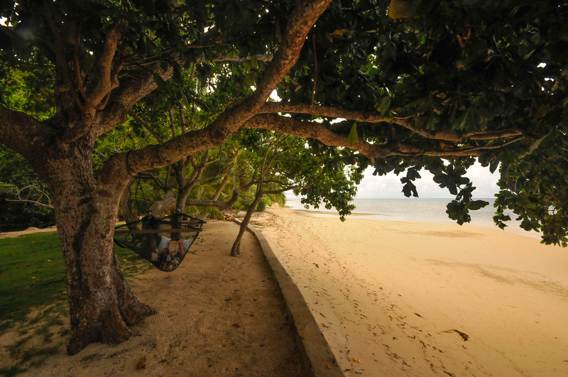 After lunch - hammock, book, quiet hour<br /> <br /> Fiji Land-3507