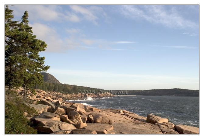 Looking towards Sand Beach<br /> Acadia National Park, Maine