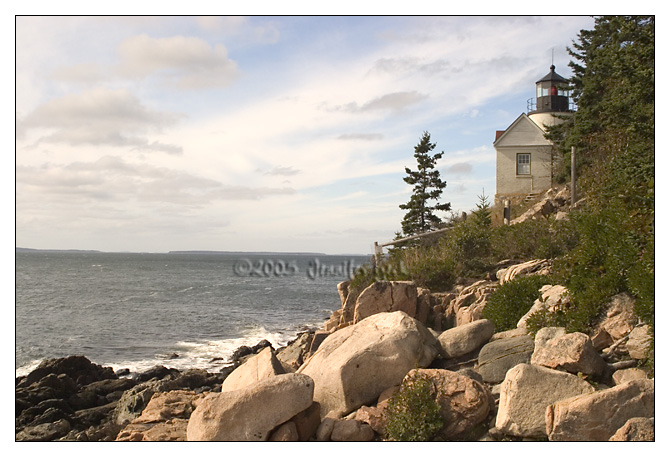 Bass Harbor Light<br /> Mount Desert Island, Maine