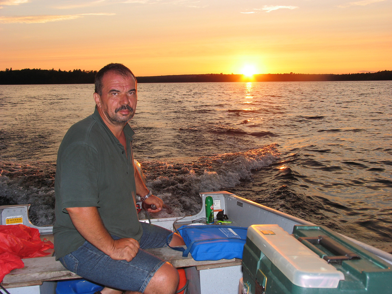 Dinu Iorga - Grand Lake Stream - July 2006