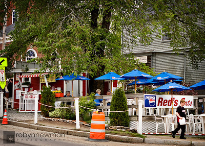 Red's Eats in Wiscasset. Maine.  The best Lobster roll in Maine.